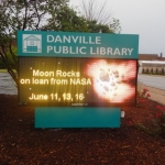 Moon Rocks on Display at Danville Public Library