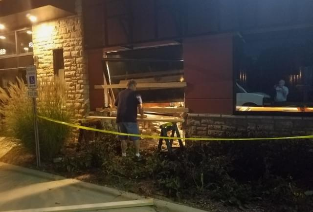 Freak Accident Sends Car Crashing Into Applebee's | WDAN-AM