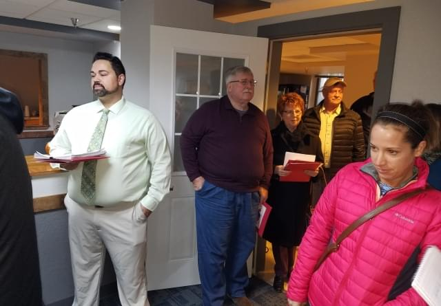 Candidates Line-Up as Filing Period Begins