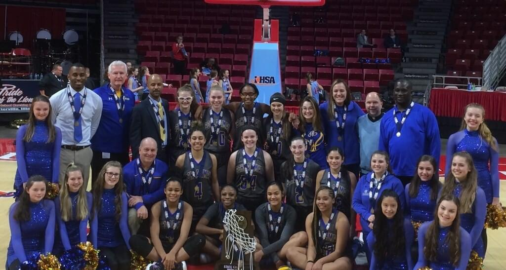 Update:  Schlarman Lady Toppers Win State Final!