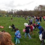 The Great Easter Egg Hunt Attracts Crowd