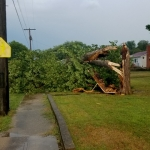 Strong Storms Bring Relief, But Some Damage