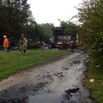 Sunday Blaze Destroys a Danville Home