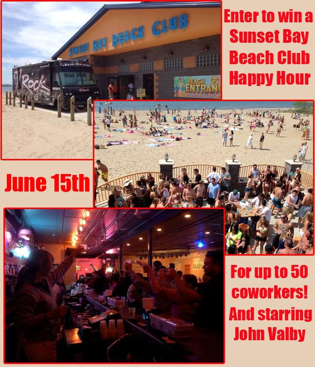 Register Below To Win A Sunset Bay Beach Club Hy Hour For Up 50 People On Friday June 15th From 7 Till 9 The Will Include Free Taco