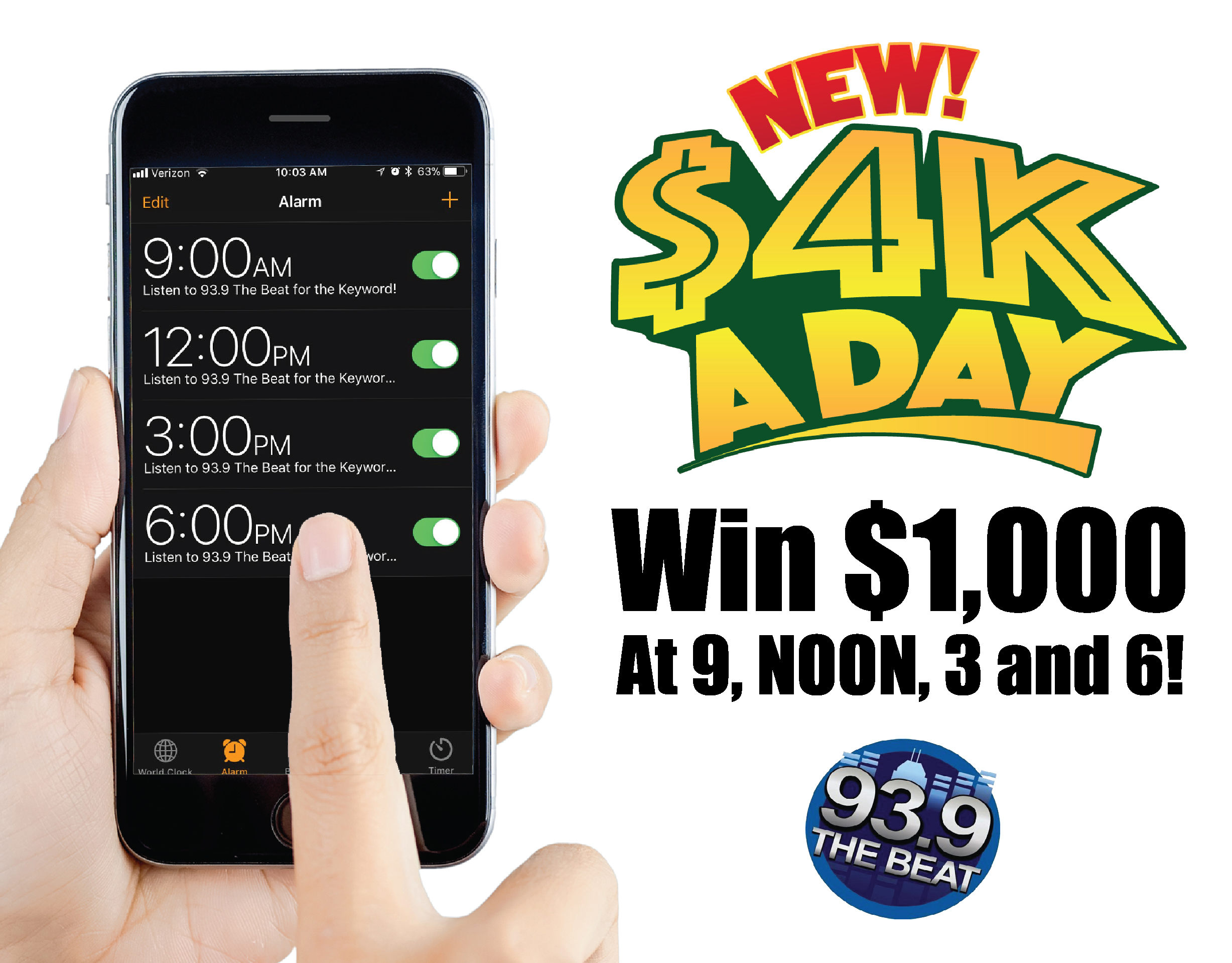4k a day giveaway number win 1 000 four times a day with the new 4k a day 1912