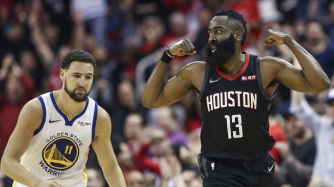Image result for warriors vs rockets usa today